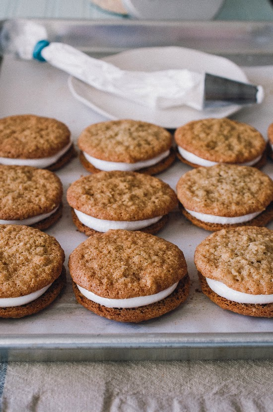 Sweet Treats: food, photography, life: GF Oatmeal Creme Pies