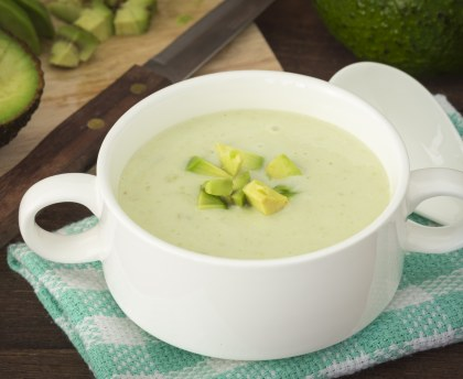Avocado soup