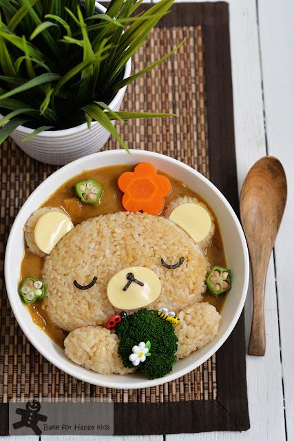 Rilakkumma Kiiroitori bento rice