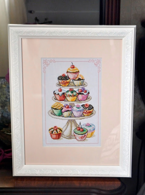 Vervaco Counted Cross Stitch Kit Cupcake