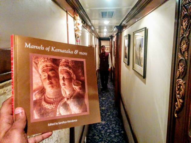 The Golden Chariot Train takes one on a luxurious tour across the marvels of Karnataka