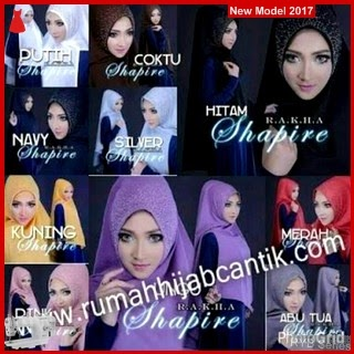 RYB078B Hijab Jilbab Cantik Khimar Murah Shapire BMG Online Shop