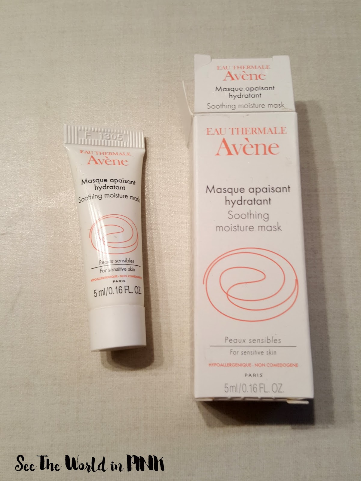 avene eau thermale soothing moisture mask