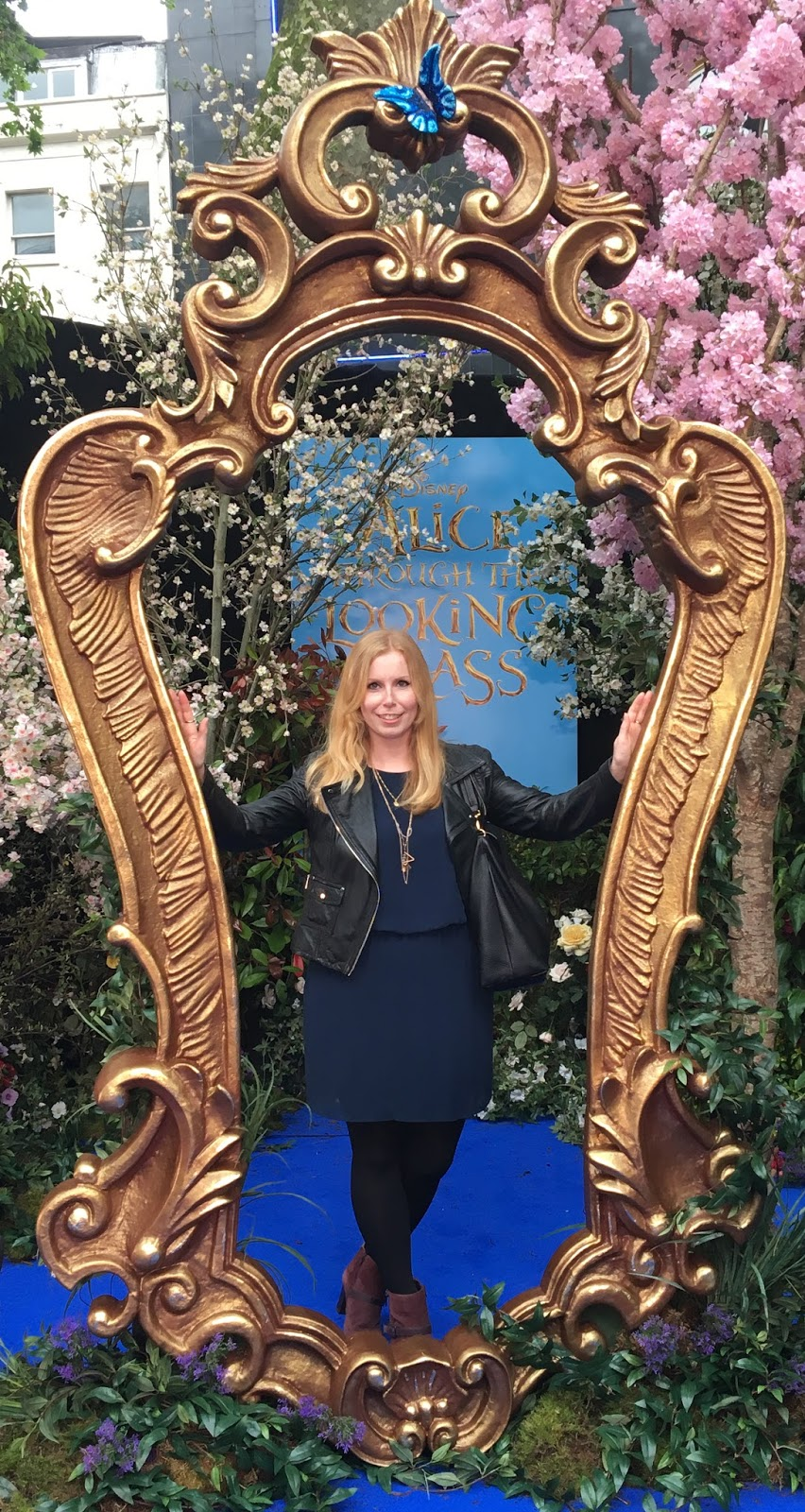 Alice Through the Looking glass european premiere in Leicester Square