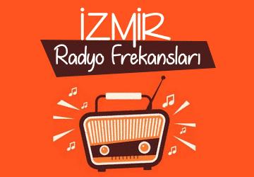 izmir radyo frekansları
