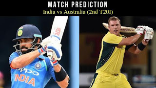 Today Match Prediction India vs Australia 2nd T20