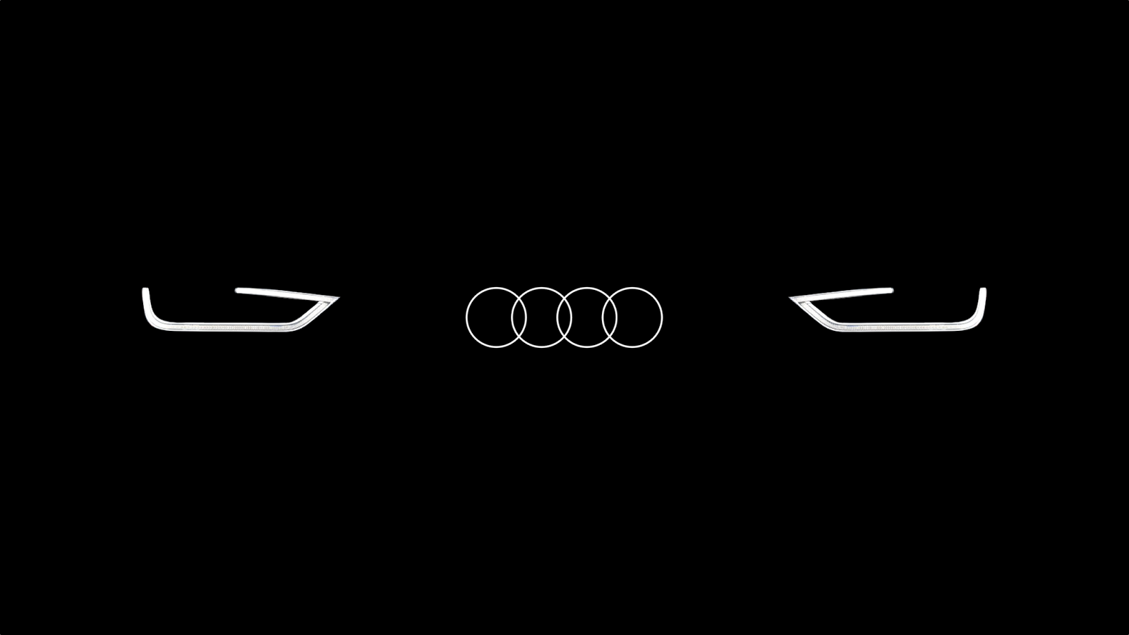audi logo cars show logos. Black Bedroom Furniture Sets. Home Design Ideas