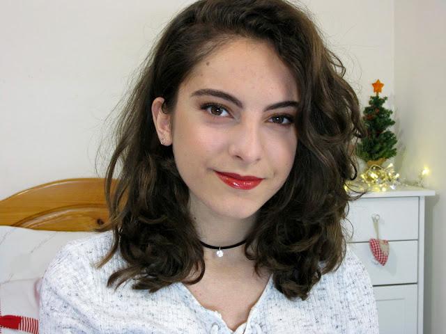Christmas Makeup | Zoeva Caramel Melange Tutorial