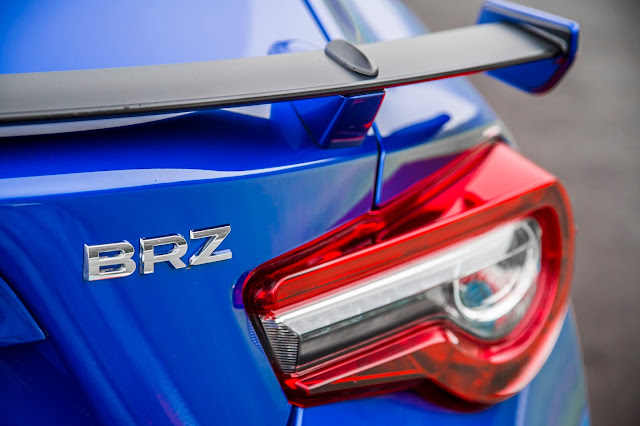 Rear detail of 2017 Subaru BRZ Limited