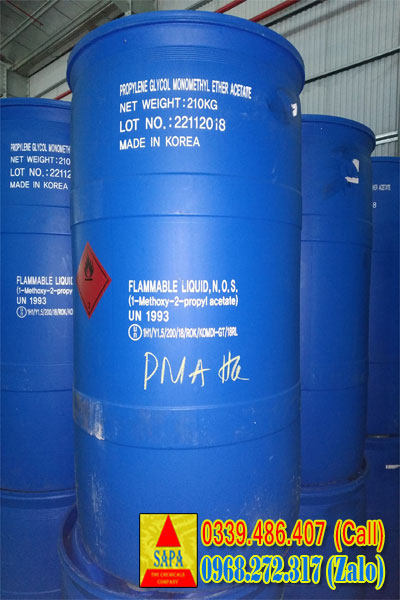 Propylene Glycol Monomethyl Ether Acetate PMA