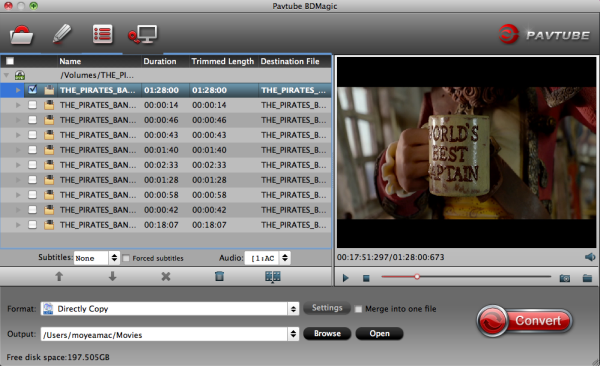 Directly copy DVD to VOB files with VLC Media Player on Mac