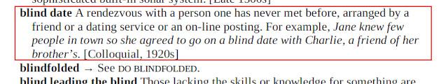 Arti Blind Date