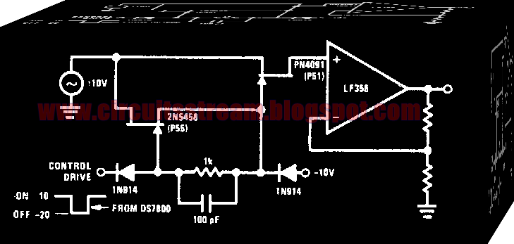 High Frequency Analog Switch Circuit Diagram