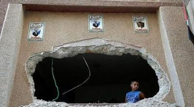 Israel responde a los ataques palestinos de los últimos días, en los que murieron dos israelíes y seis resultaron heridos.