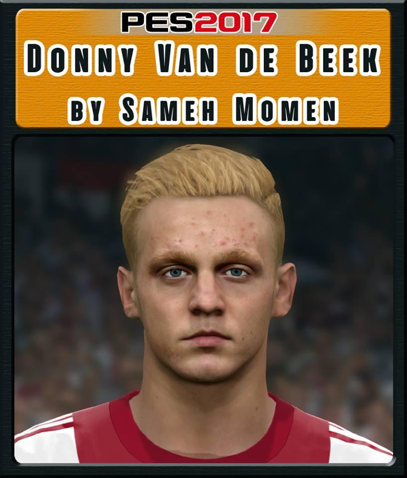 PES 2017 Donny Van De Beek Face by Sameh Momen