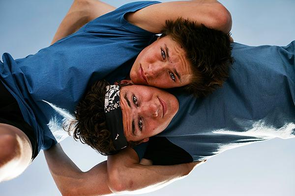 Sieger e Marc durante os treinos | Boys - 2014 | Blog #tas