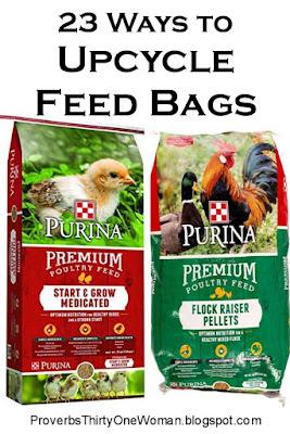 How to Reuse Feed Sacks