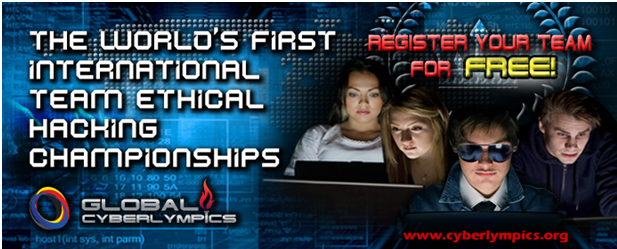Global CyberLympics -  Middle East & India Championships 11-12 October at Gitex 2011 Dubai