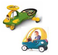 APE : Mobil-mobilan yang dikendarai oleh anak/ mobil mekanik