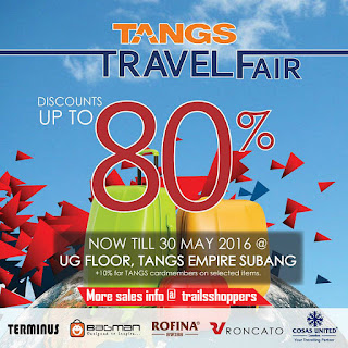 Tangs Travel Fair Offer Promotion