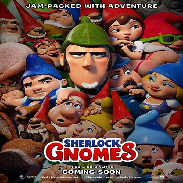 Sherlock Gnomes, Sherlock Gnomes Synopsis, Sherlock Gnomes Trailer, Film Sherlock Gnomes 2018, Sherlock Gnomes Review, Download Poster Sherlock Gnomes, John Stevenson, David Furnish, Steve Hamilton Shaw, Andy Riley, James McAvoy, Ben Zazove, Kevin Cecil, Emily Blunt, Johnny Depp, Chiwetel Ejiofor, Mary J. Blige, Paramount Pictures