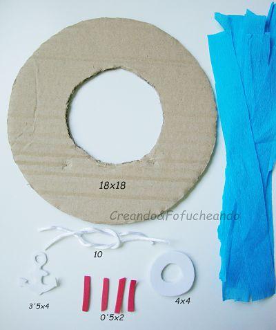 piezas-y-medidas-corona-marinera-con-cartón-y-papel-crespón