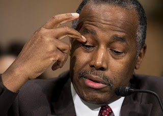 Dr. Ben Carson testifying before Congress