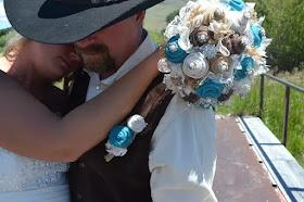 Rustic Western Wedding Flowers