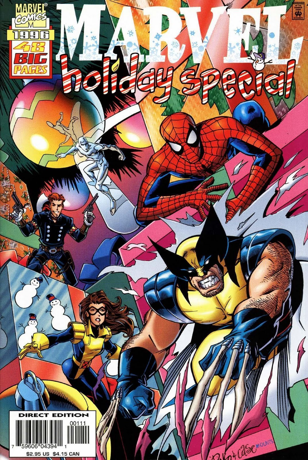 Marvel Christmas.To Have A Curse Marvel Christmas Special 1996 Review