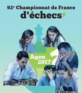 L'affiche du championnat de France d'échecs 2017 - Photo © FFE