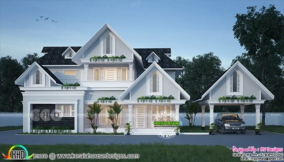 European style 4 bedroom 2262 sq-ft