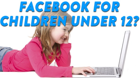 facebook for kids under 12