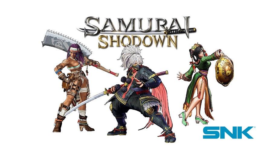 samurai shodown 2019 new characters snk ps4 xb1