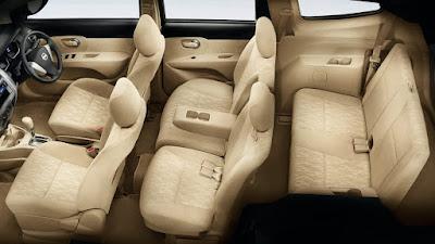 Desain Interior Nissan Grand Livina