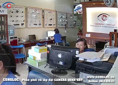 lắp camera wifi giá rẻ cho văn phòng
