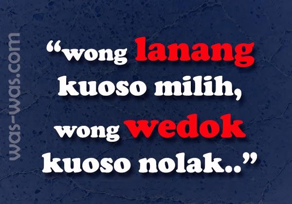 """Gambar Gokil Lucu Bahasa Jawa"""