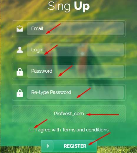 Регистрация в BitUnion
