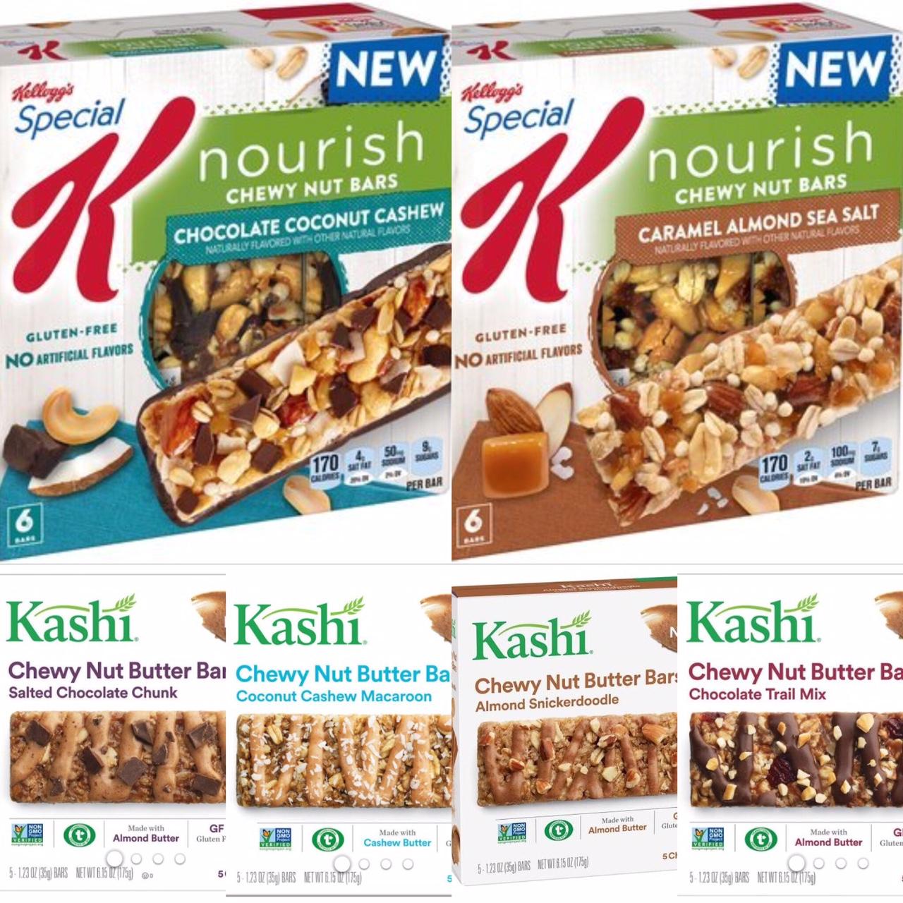 Kashi Chocolate Almond And Sea Salt Recall