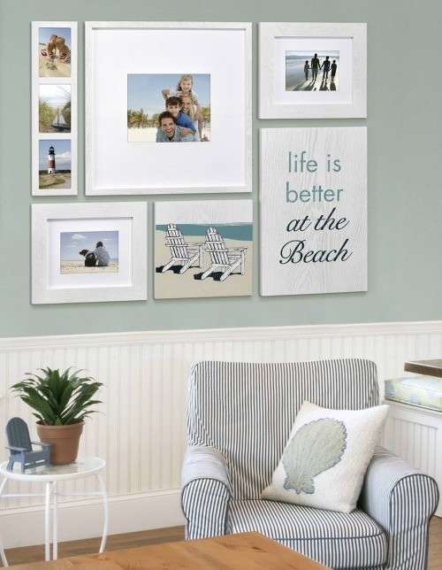 Life Is Better At The Beach Picture Frames Coastal Decor Ideas And Interior Design Inspiration