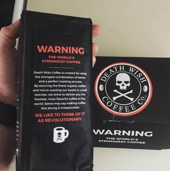Cafés mais fortes do mundo: Death Wish Coffee