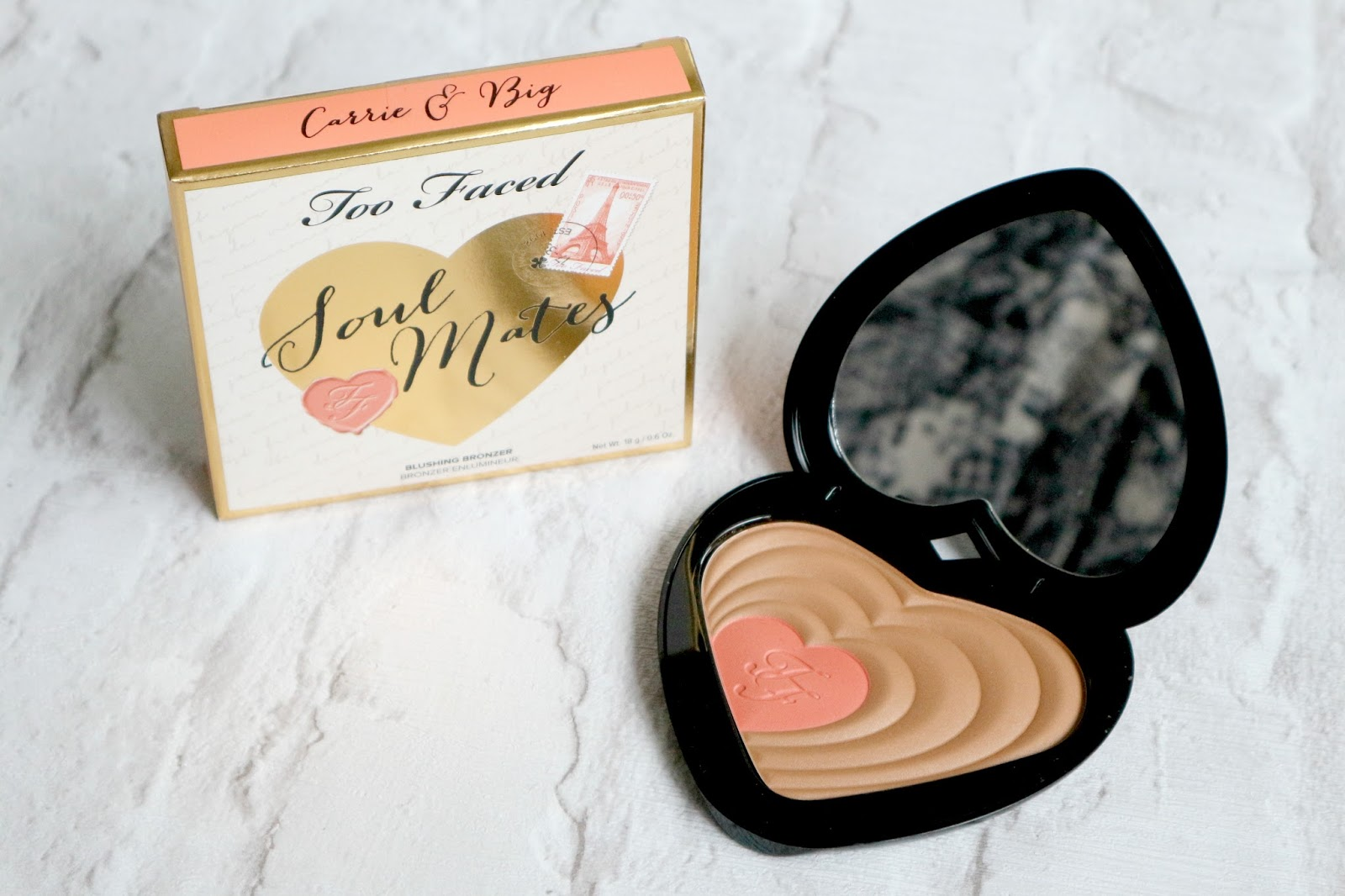 Too Faced Soul Mates Bronzer Carrie and Big