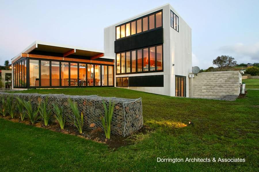 Residencia contemporánea prefabricada