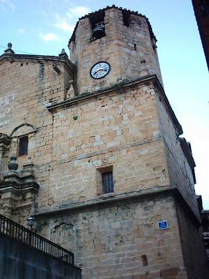 iglesia ,San Bartolomé, plaza ,Beceite ,Beseit, campanario, cuesta