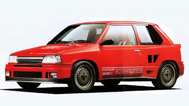 Daihatsu Charade de Tomaso 926R
