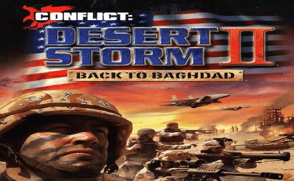 تحميل لعبة عاصفة الصحراء Desert Storm 2 بحجم صغير جدا وشغالة للكمبيوتر 100%