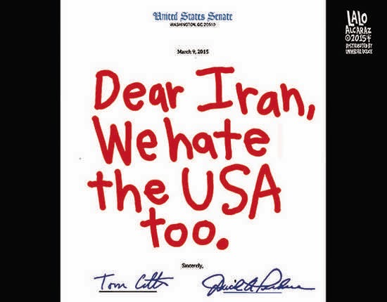 Ha Ha !! The <b>Joke&#39;s</b> On <b>You AMERICA</b>-----The 47 Senators Who Sent ...