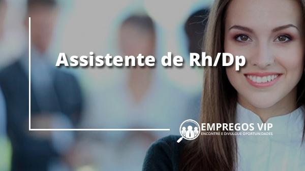 Assistente de Rh/Dp