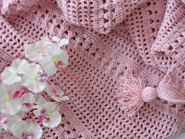 Crazy Chunky Crochet Blanket