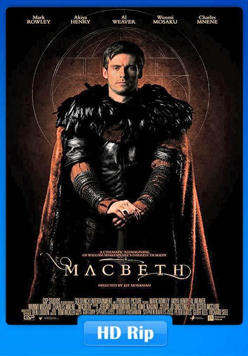 Macbeth 2018 720p WEB-DL   480p 300MB  100MB HEVC Poster