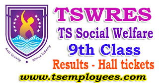 Tswreis 9th Class Entrance Test Results 2017 Hall tickets Social Welfare Residential Schools Common Entrance Test 2017